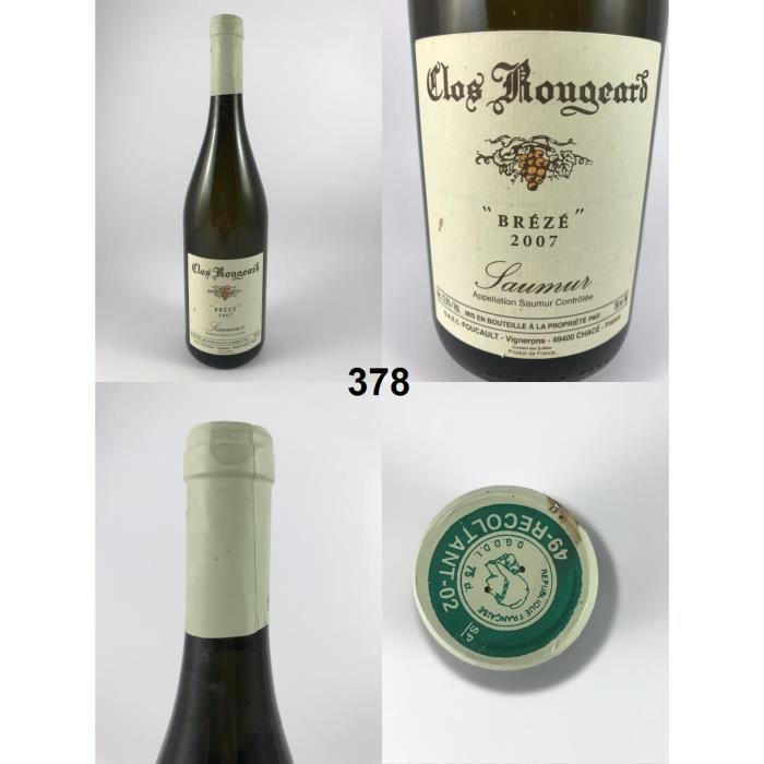 Clos Rougeard - Brézé 2007 - N° : 378, Saumur, Blanc