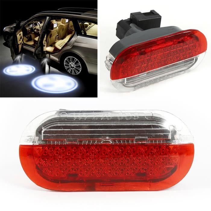pour 1998-2005 Volkswagen Beetle Auto lampe Led Lumière de signalisation panneau de porte 6Q0947411