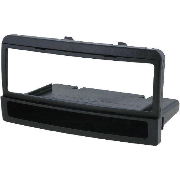 Facade autoradio 1 DIN Ford Focus 00-04 avec vide poche - noir