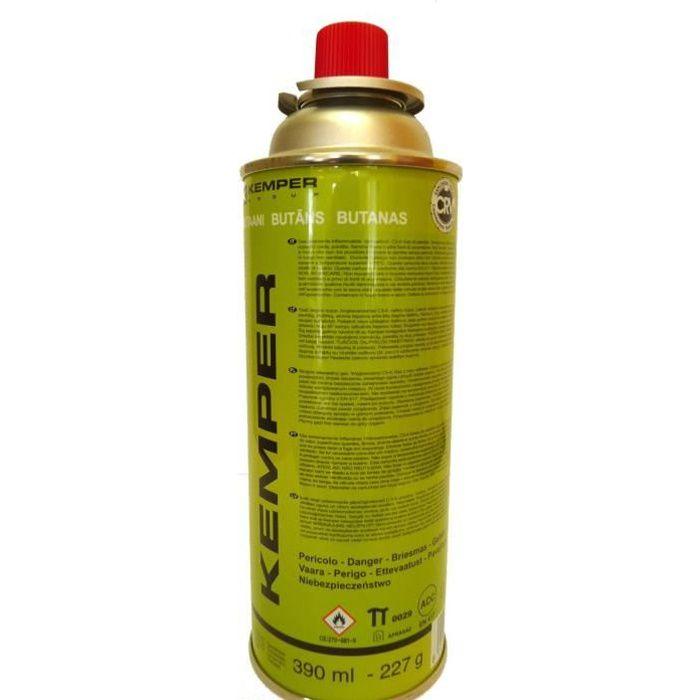 Cartouche Butane 390ml pour Réchaud à Gaz Portable