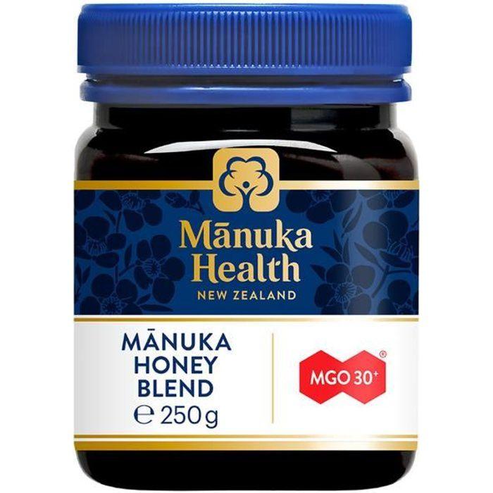 MANUKA HEALTH NEW ZEALAND Miel de Manuka 250g (MGO 30+) 250 g