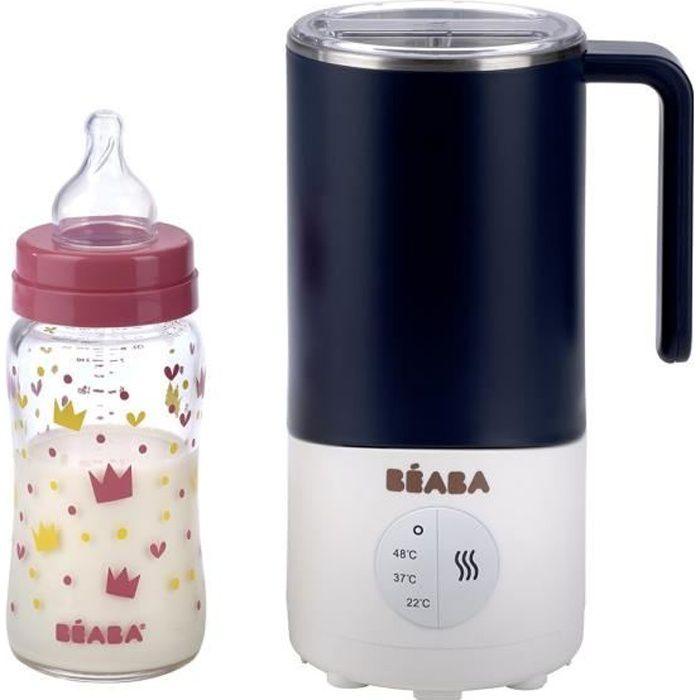 BEABA Milk Prep Préparateur de Biberons/Boissons Lactées - bleu nuit