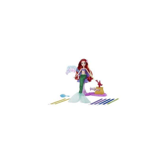 Poupee Ariel Coiffures Creations Salon Ruban Royal - Disney Princess