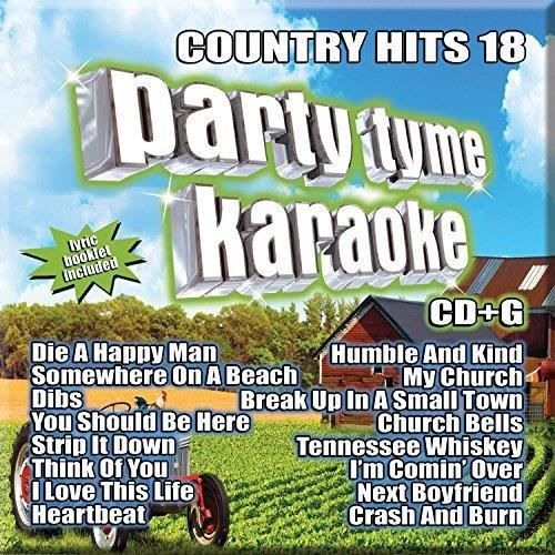 KARAOKE-SYBERSOUND COUNTRY HITS 18 (CD)