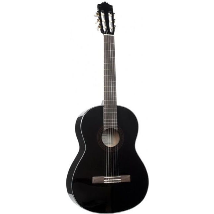 YAMAHA Guitare Classique Table Epicéa Noire