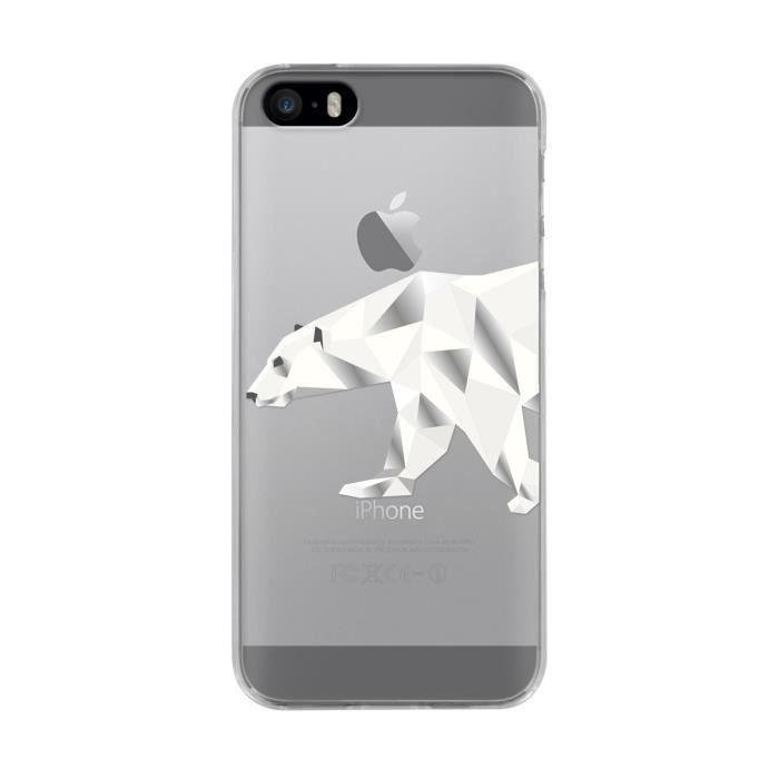 BBC Coque Ours polaire Iphone 5 / 5S / SE
