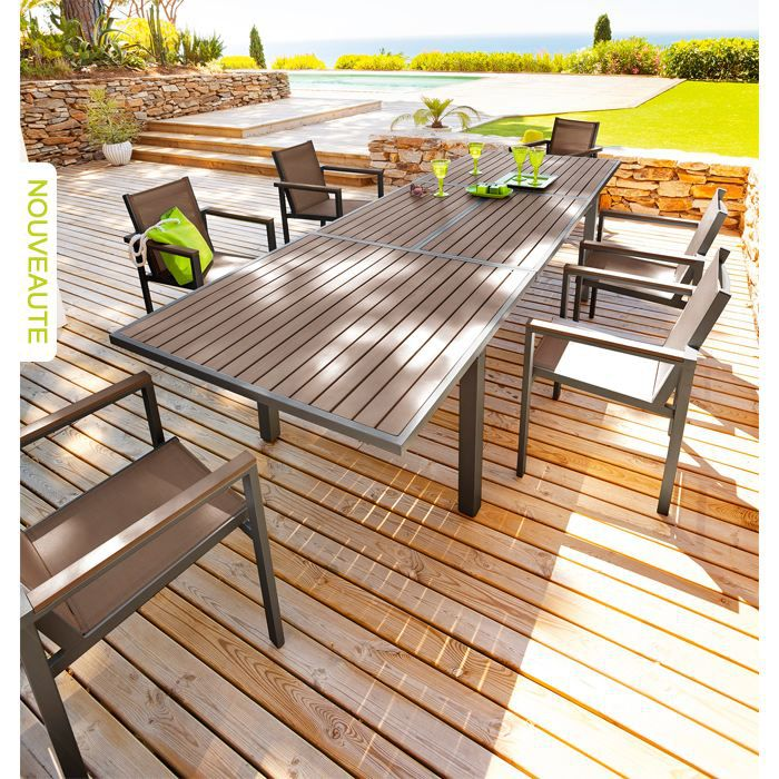 Beautiful Table Jardin Imitation Bois Ideas - Amazing House Design ...
