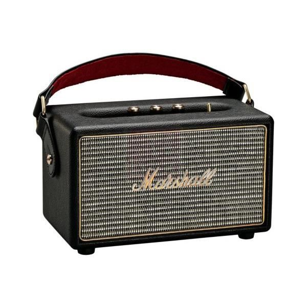 marshall kilburn enceinte bluetooth 25w noire enceinte. Black Bedroom Furniture Sets. Home Design Ideas