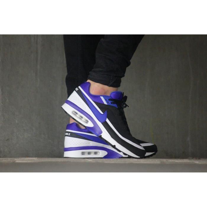 NIKE AIR MAX BW Noir/violet - Cdiscount Chaussures
