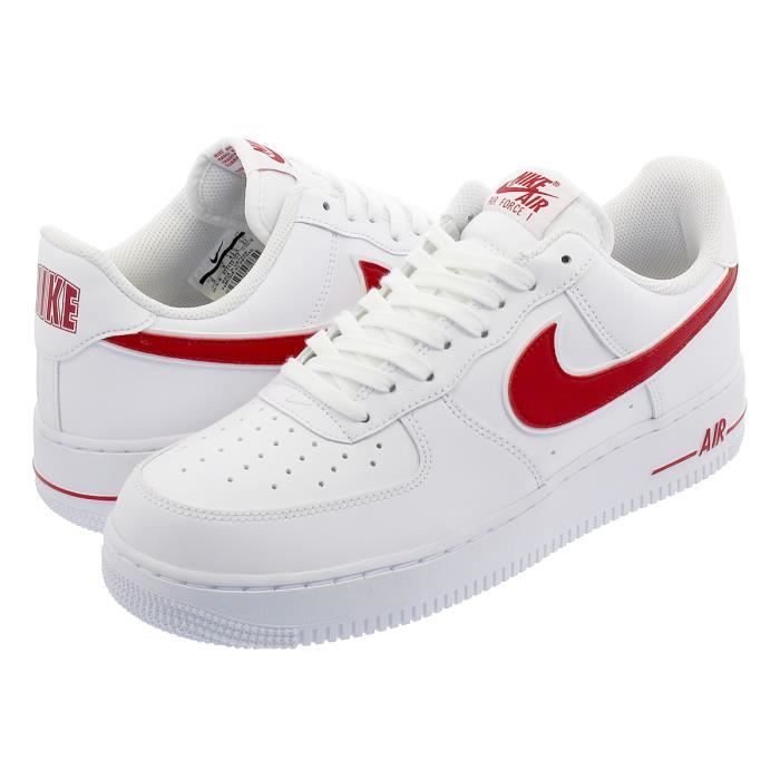 air force 1 blanc et rouge