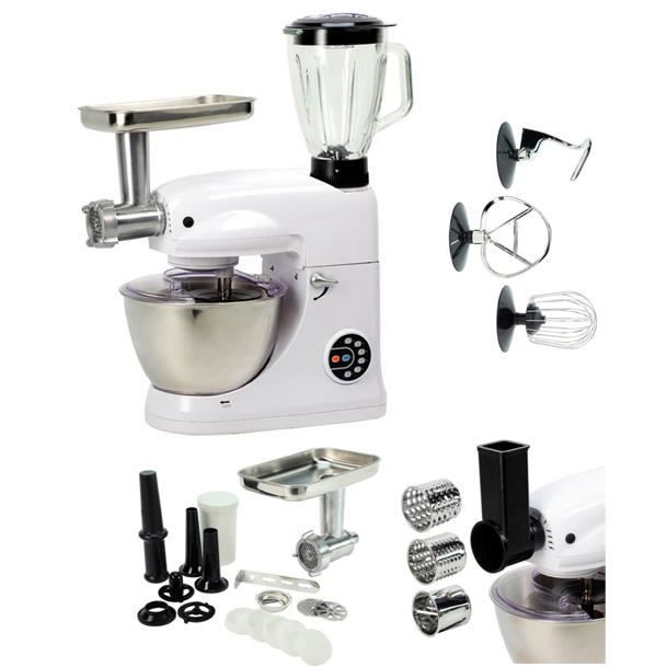 robot kitchen grand chef ultra blanc blender achat. Black Bedroom Furniture Sets. Home Design Ideas