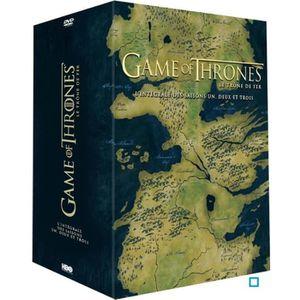 DVD SÉRIE DVD Coffret game of thrones, saisons 1 à 3
