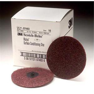 WHISKY BOURBON SCOTCH 3 M Company 07483 4 Medium Inch Roloc disque de me