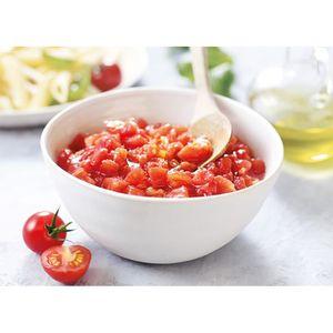 TOMATE Tomates pelées concassées au jus de tomates 3,825