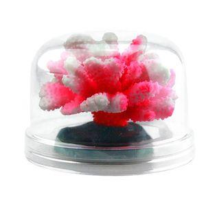 DÉCO ARTIFICIELLE Aquarium Lumineux Fleurs Corail Décoration Aquariu