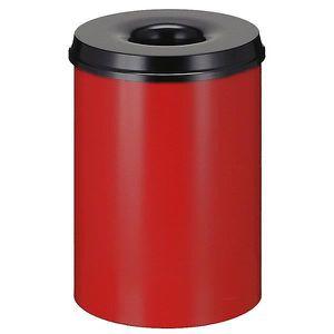 POUBELLE - CORBEILLE Corbeille à papier anti-feu - capacité 30 l, haute