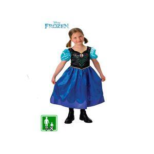 DÉGUISEMENT - PANOPLIE Déguisement robe ANNA la reine des neiges 7-8 ans