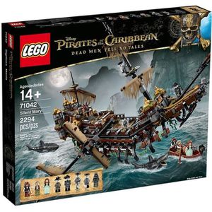 ASSEMBLAGE CONSTRUCTION LEGO® Pirates des Caraïbes™ 71042 Silent Mary