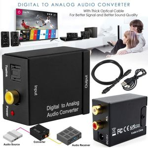 REPARTITEUR TV Convertisseur audio fibre optique vers analogique