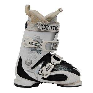 CHAUSSURES DE SKI Chaussures de ski Atomic live fit plus blanc/noir