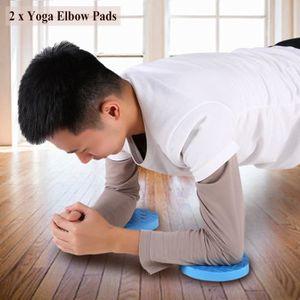 GENOUILLÈRE DE CHANTIER 2Pcs Tapis d'entraînement de yoga d'entraînement d