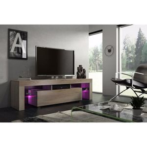 meuble bas tv achat vente meuble bas tv pas cher cdiscount. Black Bedroom Furniture Sets. Home Design Ideas
