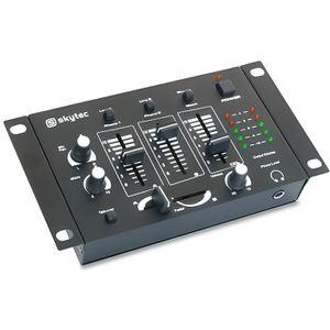 TABLE DE MIXAGE SkyTecSTM-2211B Table de mixage 4 canaux - Noir