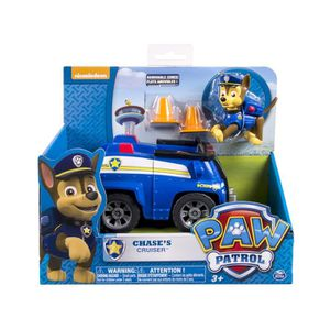 VOITURE - CAMION Spin Master Paw Patrol Basic Vehicle Chase, Noir,
