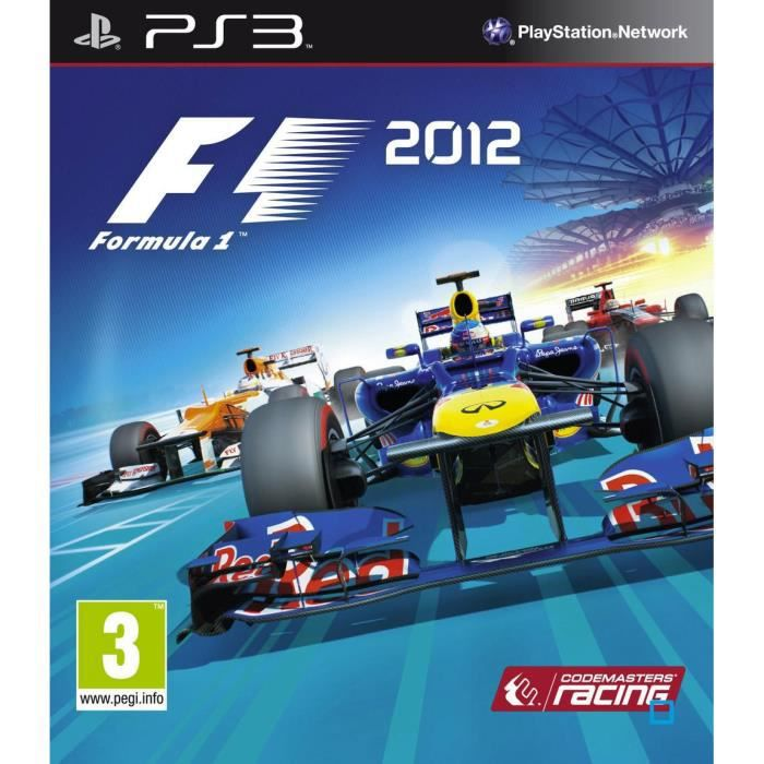 f1 2012 jeu console ps3 achat vente jeu ps3 f1 2012 jeu console ps3 cdiscount. Black Bedroom Furniture Sets. Home Design Ideas