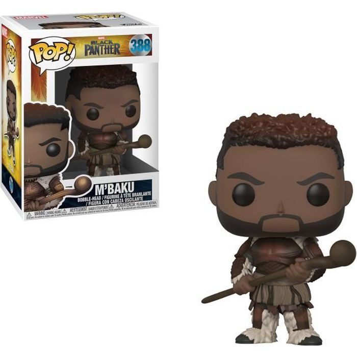 Figurine Funko Pop! Marvel - Black Panther: M'Baku
