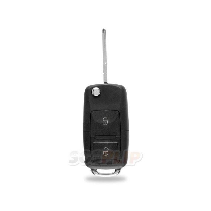 Coque de clé pour Volkswagen Golf Passat Polo Bora