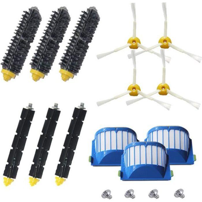Kit de remplacement d'accessoires pour iRobot Roomba série 600 614 620 630 650 660 671 680 690 pièces d'aspirateur