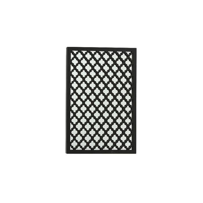 Miroir Rectangulaire Oriental Bois Noir 0,000000
