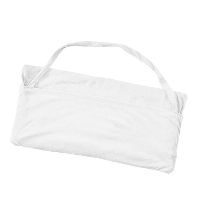 Transat Mate serviette de plage pour adultes transat lit vacances salon de jardin poches sac de tran - Modèle: WHITE - KSYYMJA08373