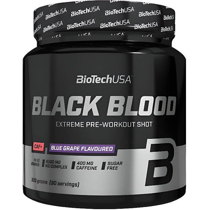 BLACK BLOOD CAF+ BIOTECH USA 300g cola