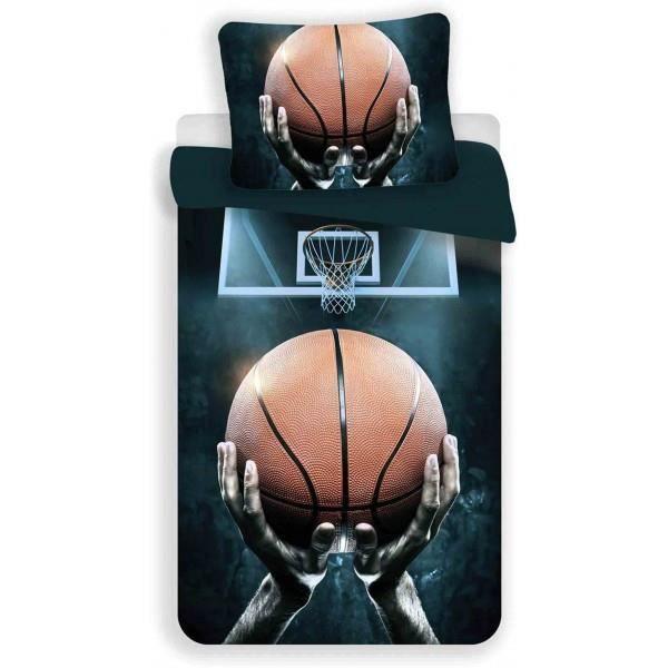 Basket Ball Parure de lit Enfant Hou Noir