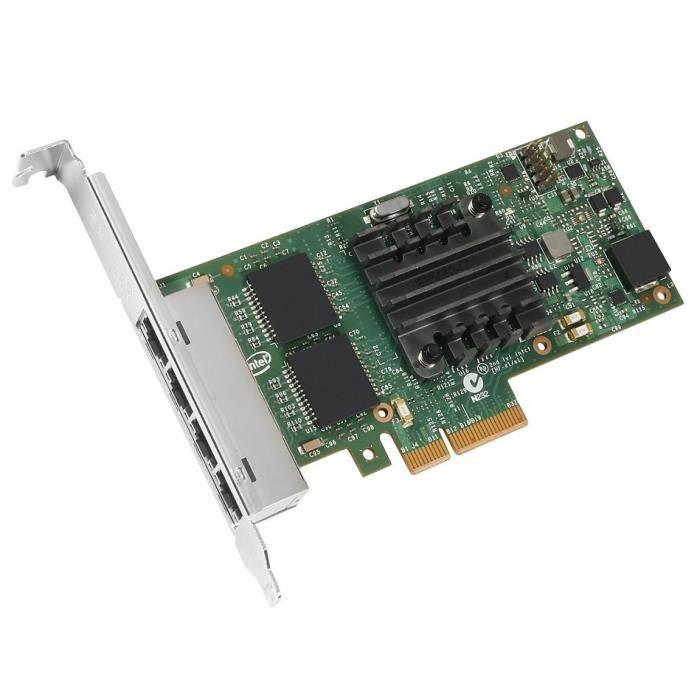 Lenovo Adaptateur réseau Intel Ethernet Server Adapter I350 T4 Pcie 2.0 x4 Gigabit Ethernet x4