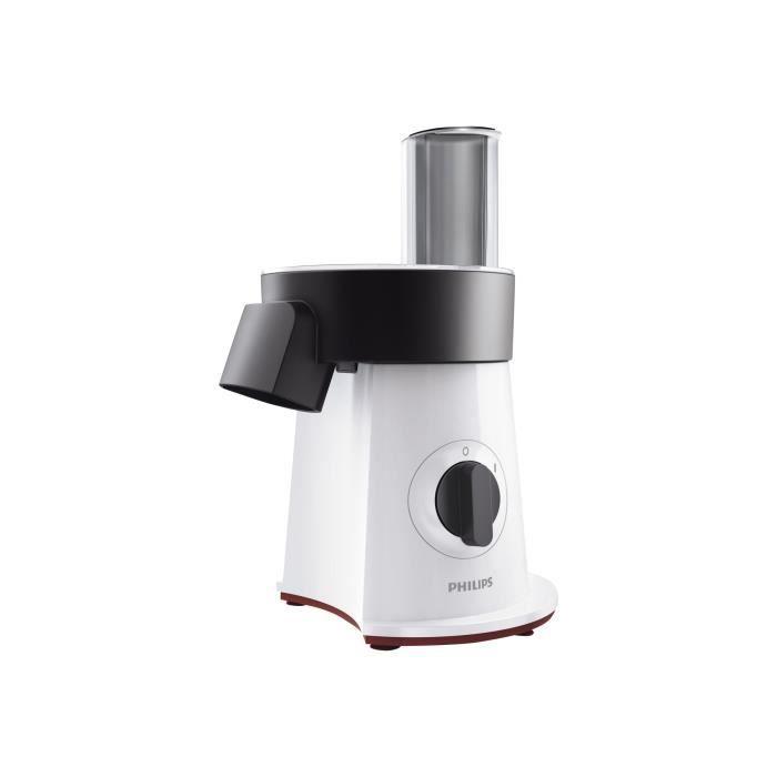 Philips Viva Collection SaladMaker HR1388 Robot multi-fonctions 200 Watt blanc-noir-rouge étoile