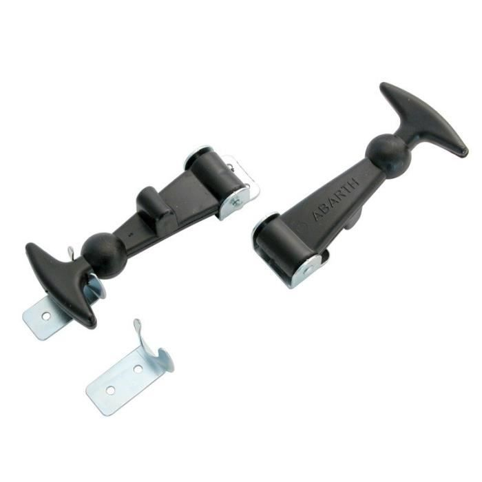 CARPOINT Jeu de 2 Attaches-Capot