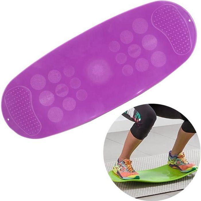 SURENHAP - Planche d'équilibre Torsion Fitness pour muscles et jambes abdominaux - 60 * 25 * 0.8cm - Rithok -6adfgd