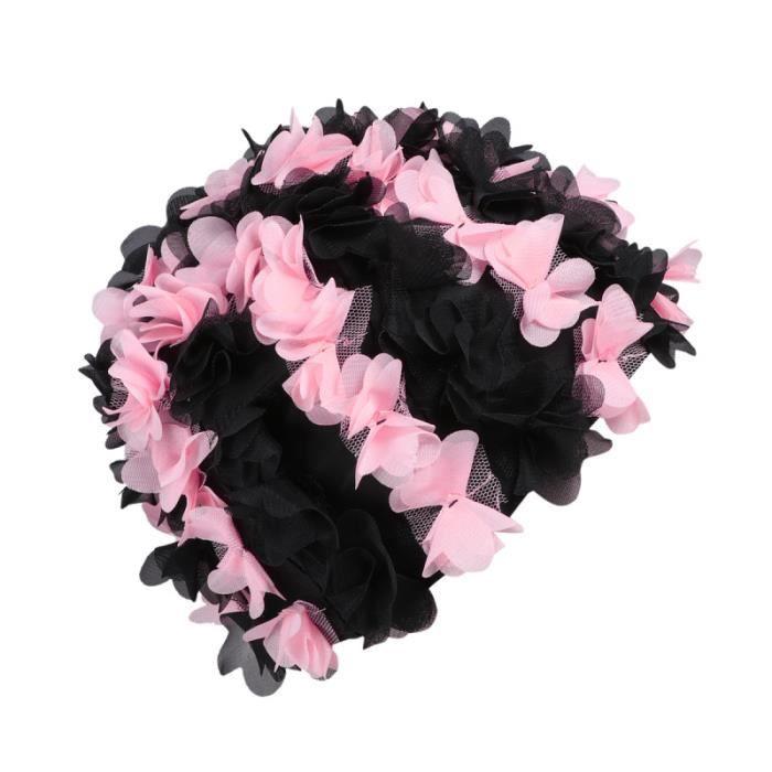 1Pc bonnet de bain fleur de femmes de de pour filles adultes