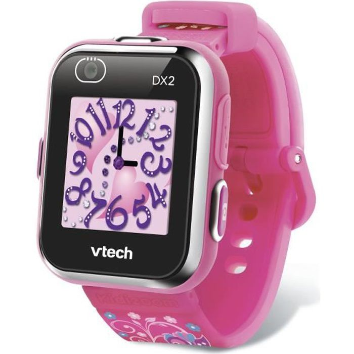 VTECH - Kidizoom Smartwatch Connect DX2 Rose - Montre Photos et Vidéos
