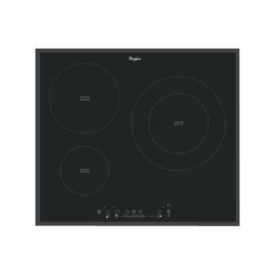 Whirlpool - plaque de cuisson à induction 58cm 3 feux 7000w noir - acm865ba