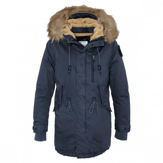 schott parka homme iceberg bleu bleu achat vente blouson cdiscount. Black Bedroom Furniture Sets. Home Design Ideas