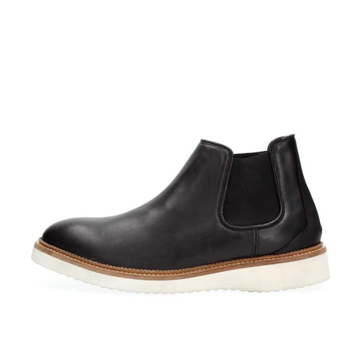 SELECTED BOTTINES Homme BLACK, 42
