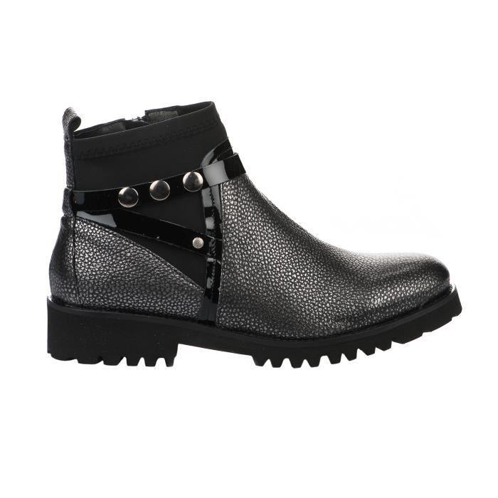 Boots femme Boots Gris femme 36 36 REGARD Gris REGARD Yyf7gb6