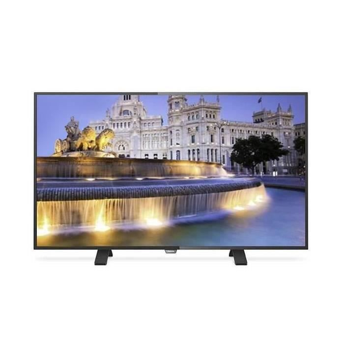destockage philips 43puh4900 tv led ultra hd 4k 108cm 43. Black Bedroom Furniture Sets. Home Design Ideas