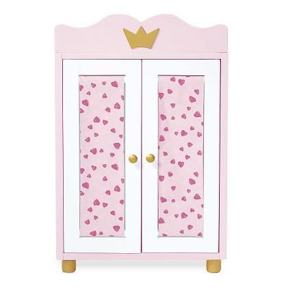armoire de poup e princesse paula achat vente maison. Black Bedroom Furniture Sets. Home Design Ideas