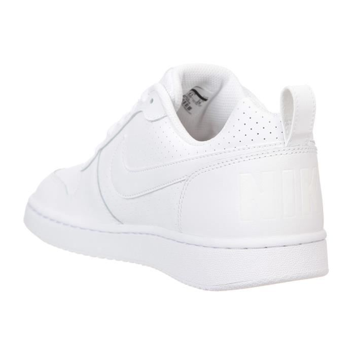 NIKE Baskets Court Borough - Homme - Blanc