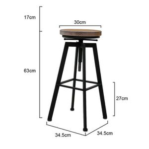 tabouret de bar achat vente tabouret de bar pas cher les soldes sur cdiscount cdiscount. Black Bedroom Furniture Sets. Home Design Ideas